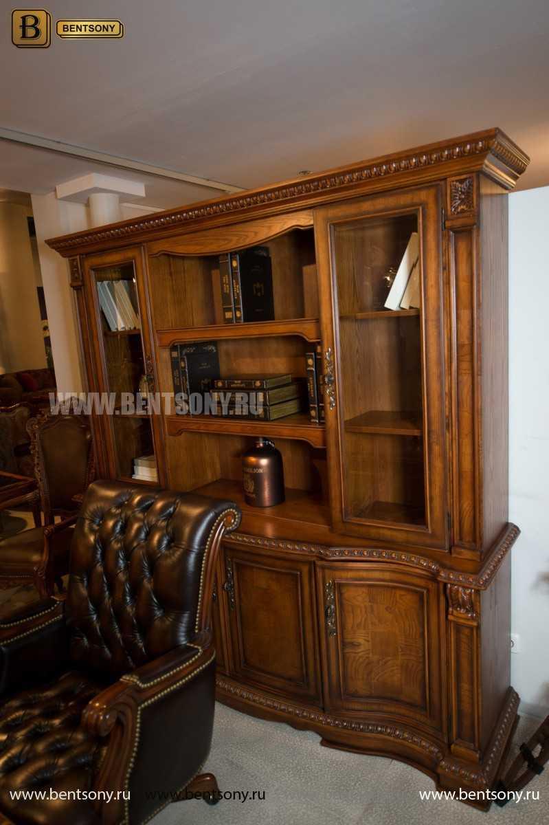 Шкаф Книжный Монтана (Прямой, массив дерева) официальный сайт цены