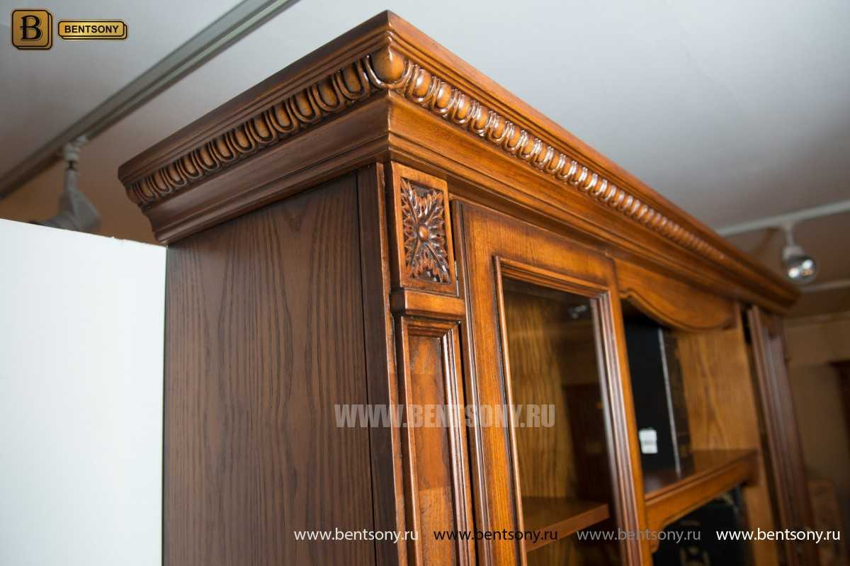Шкаф Книжный Монтана (Прямой, массив дерева) в СПб