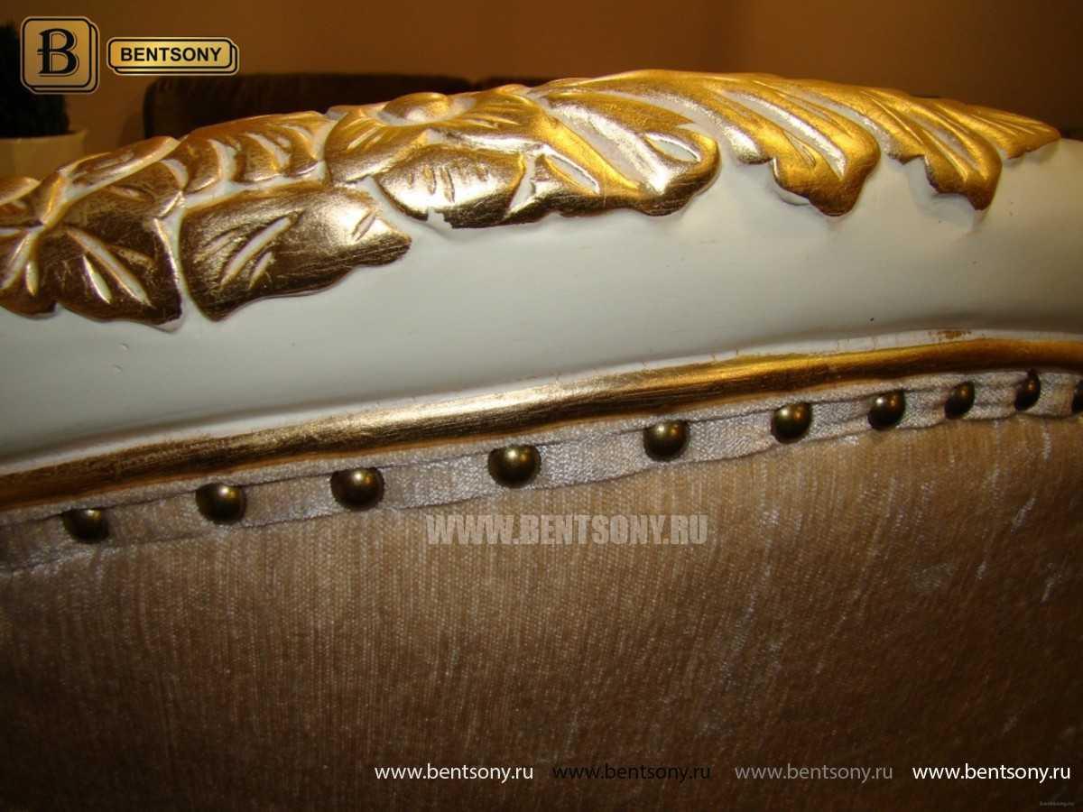 Кресло Амадео (Классика, массив дуба, патина) каталог мебели с ценами