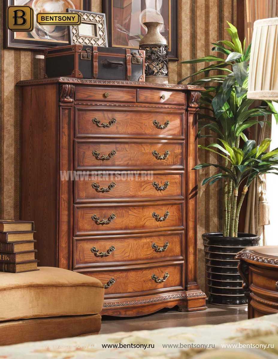 Спальня Монтана А (Классика, массив дерева) каталог мебели с ценами