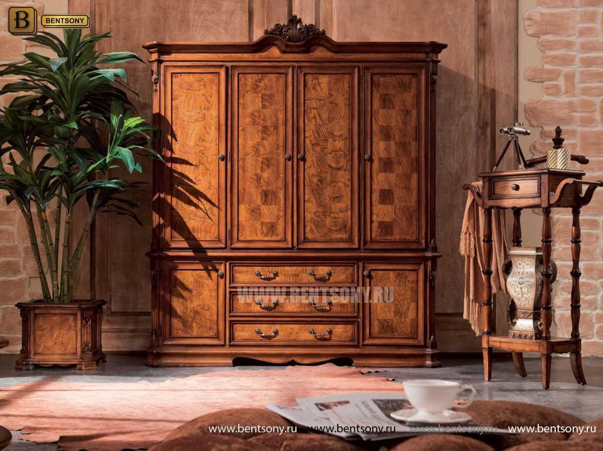 Спальня Монтана А (Классика, массив дерева) купить в СПб