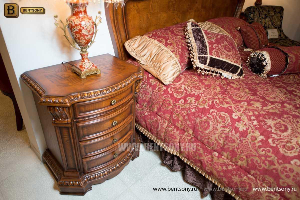 Спальня Монтана D (Классика, массив дерева) купить в СПб