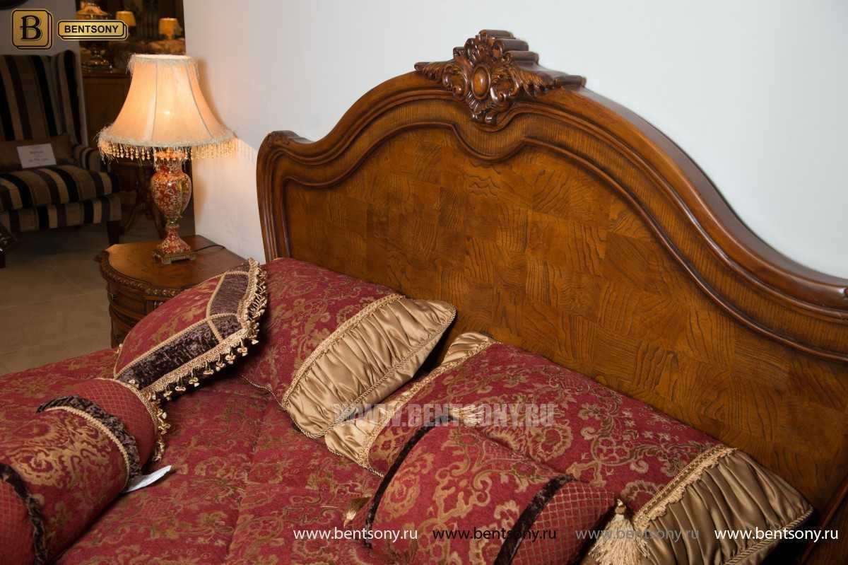 Спальня Монтана D (Классика, массив дерева) фото