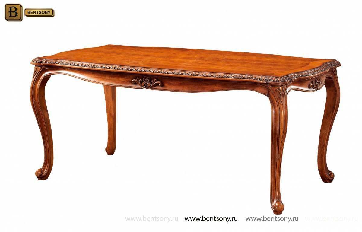 Обеденный стол Монтана (Классика, массив дерева)  для квартиры