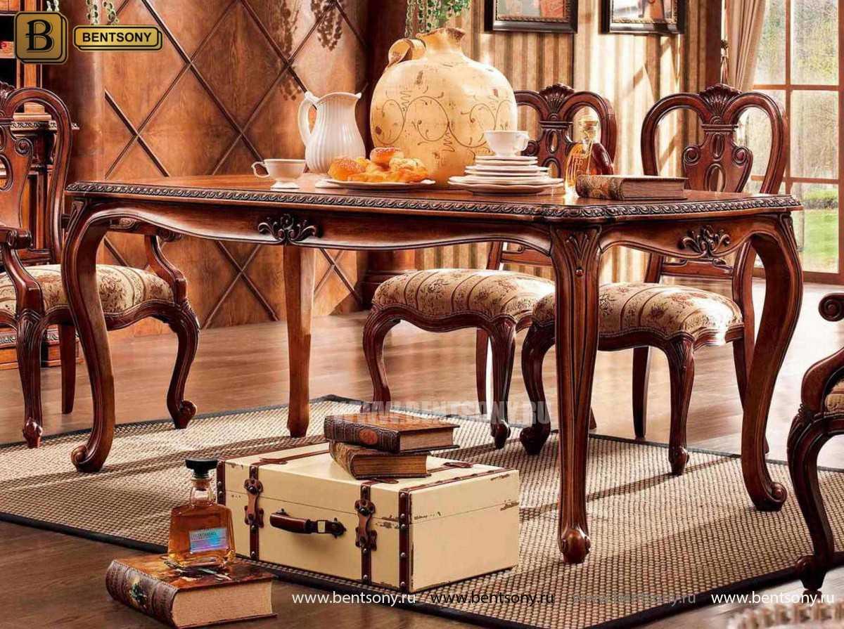 Обеденный стол Монтана (Классика, массив дерева)  каталог мебели с ценами