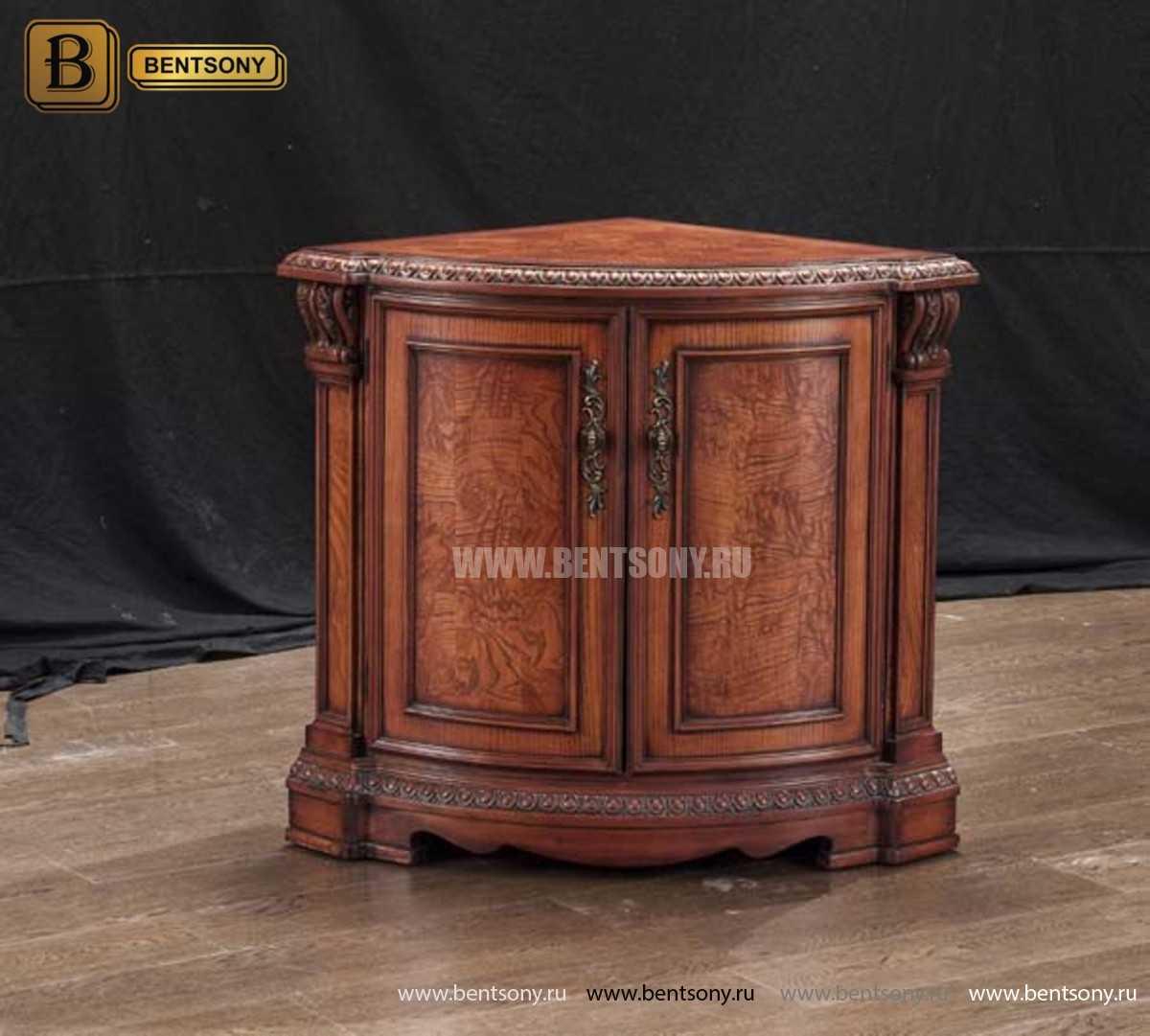 Комод Угловой Монтана (Массив дерева, классика) каталог мебели с ценами