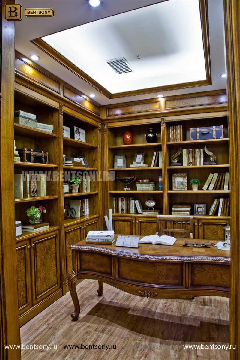 Письменный стол Монтана классический в интерьере