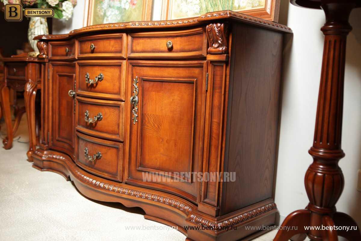 Комод Монтана (Классика, массив дерева) каталог мебели