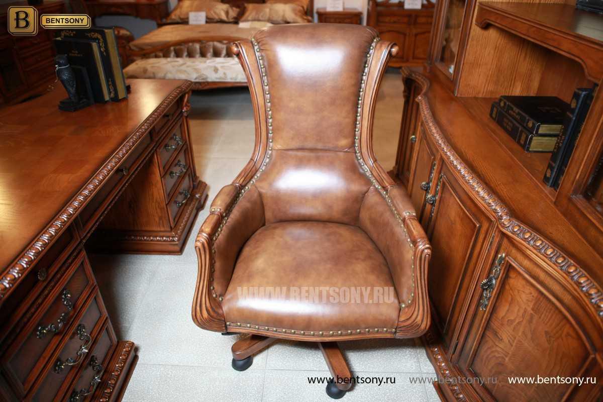 Офисное кресло руководителя фото Монтана М03
