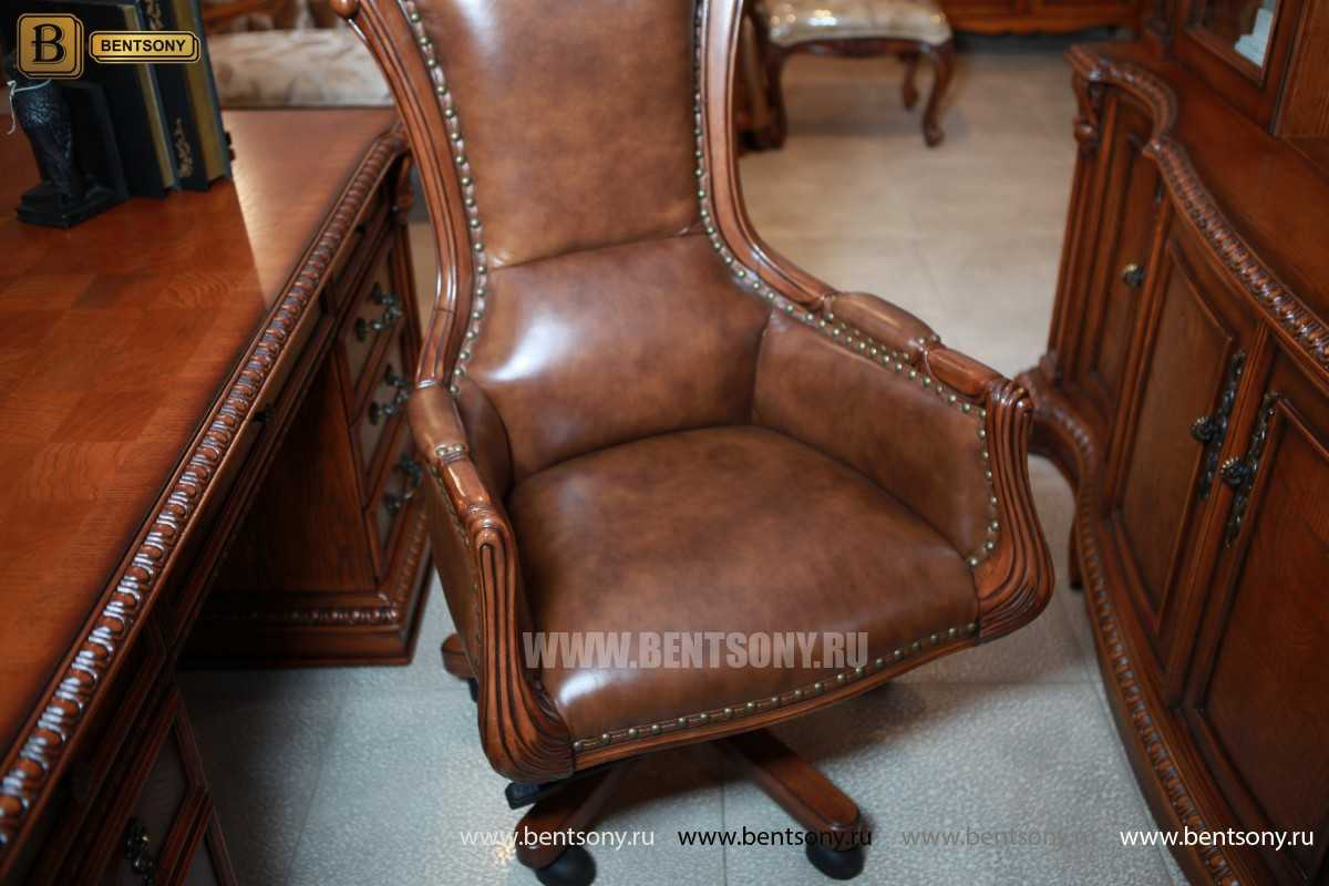 Кресло руководителя кожа фото Монтана М03