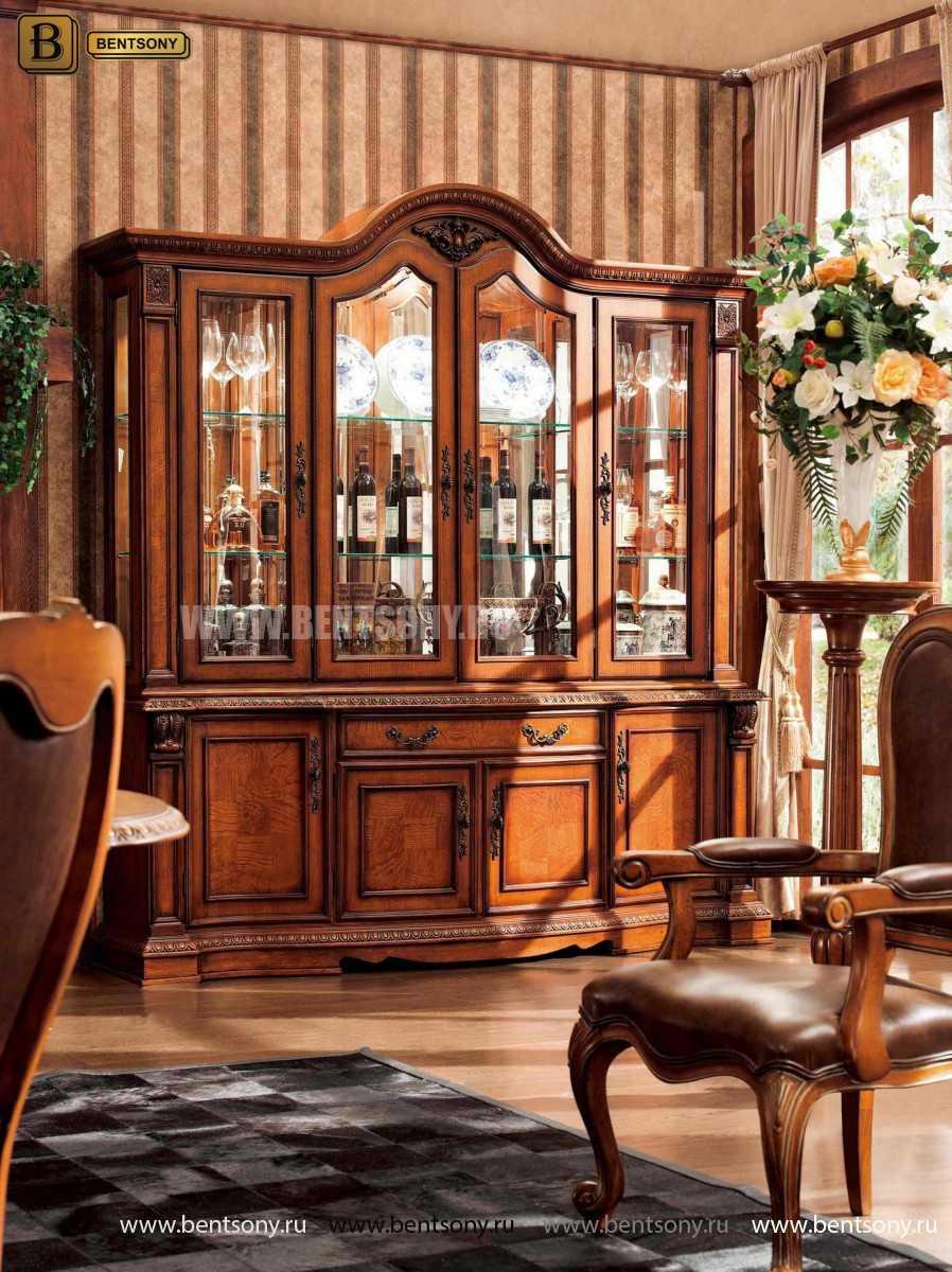 Cтоловая Монтана 03 (Классика, массив дерева) каталог мебели с ценами