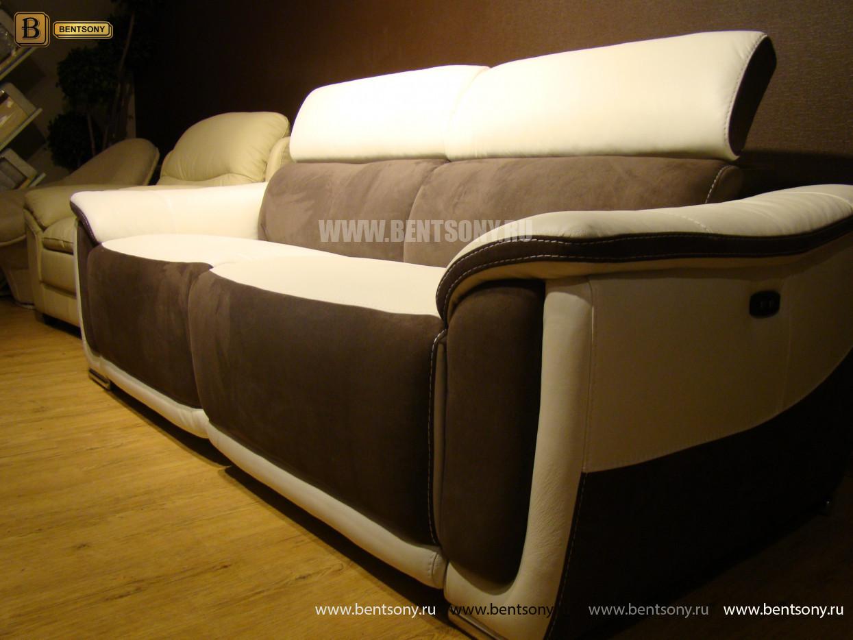 Диван Риккардо (Реклайнеры) каталог мебели с ценами