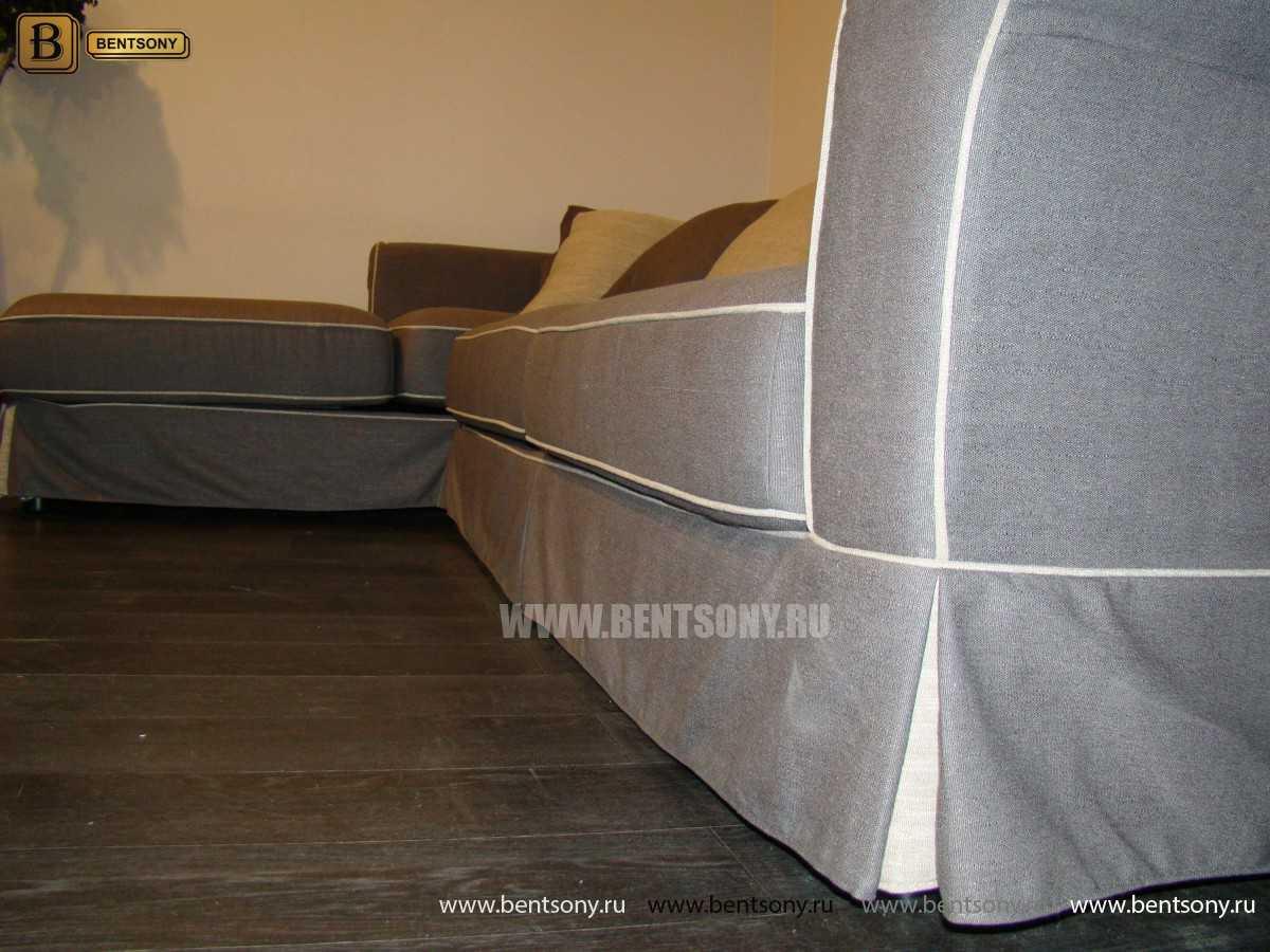 серый диван фото