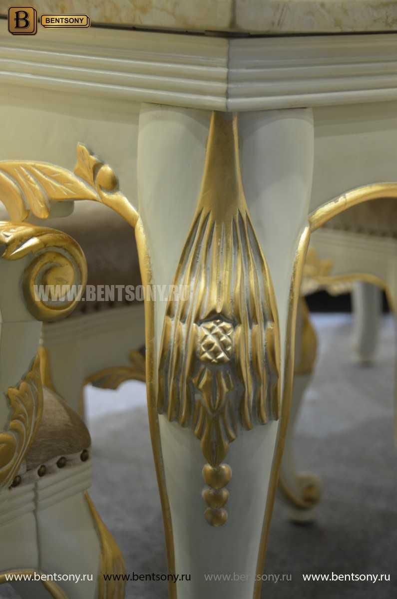 Обеденный стол Амадео 01 (Классика, массив дуба) каталог мебели