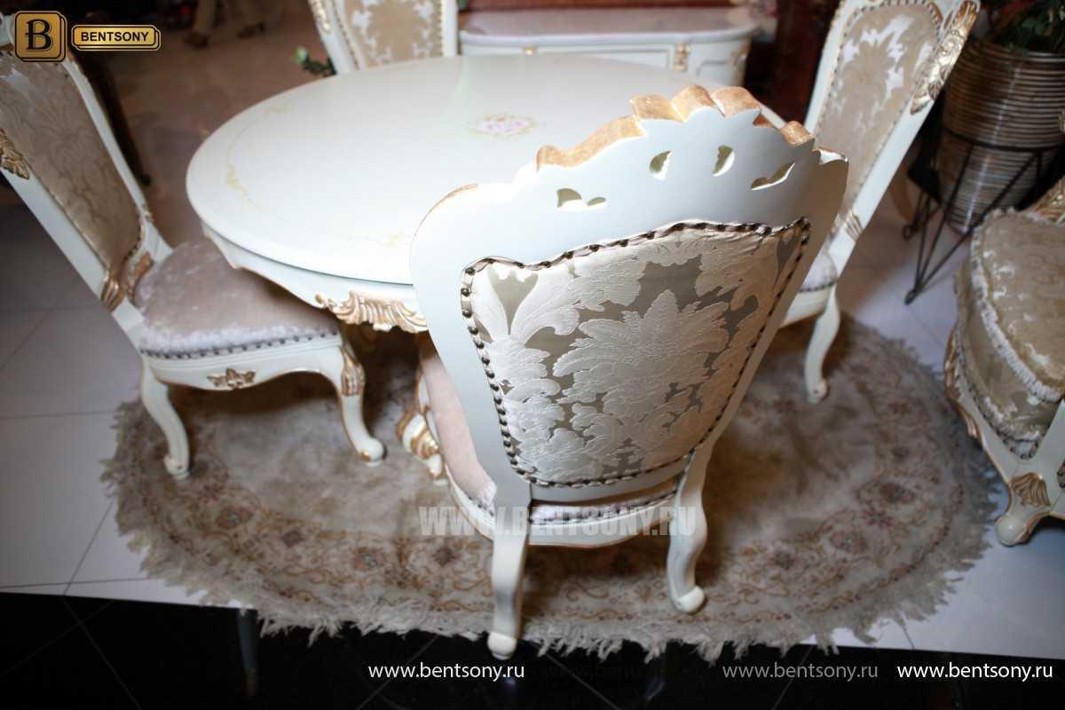 Обеденный стол Амадео 03 (Круглый) для загородного дома