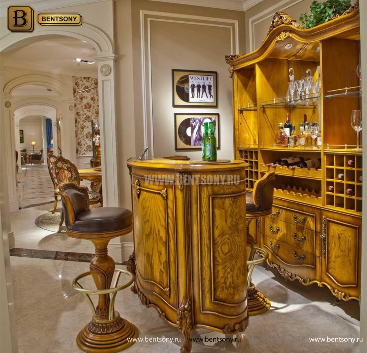 Буфет (Барный шкаф) Дакота (Классика, массив дерева) купить