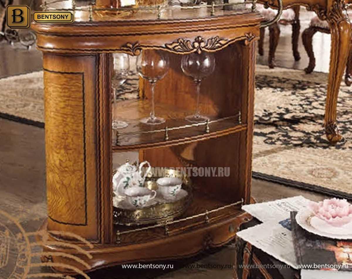 Сервировочный столик Дакота (Классика, массив дерева) официальный сайт цены