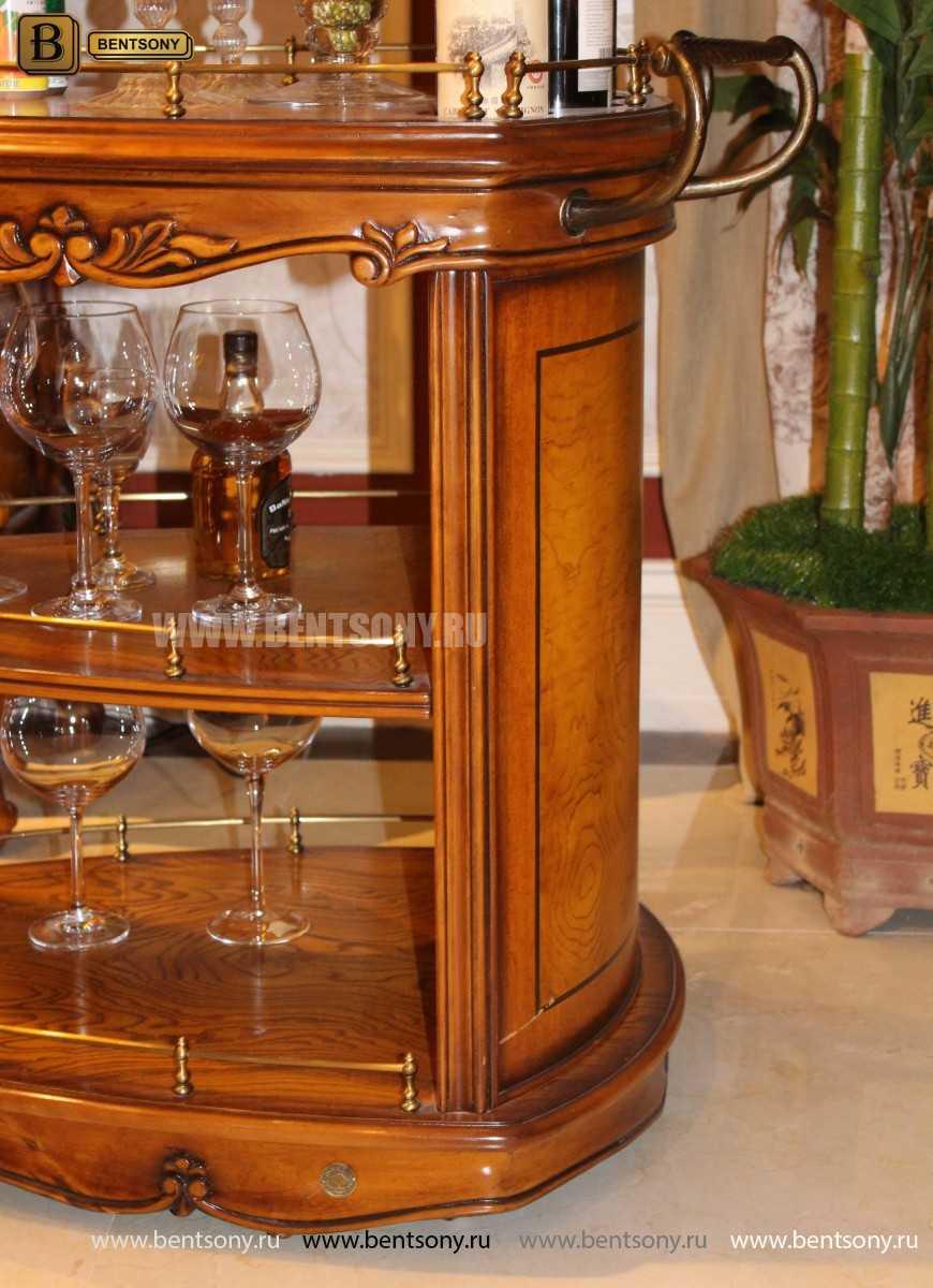 Сервировочный столик Дакота (Классика, массив дерева) цена