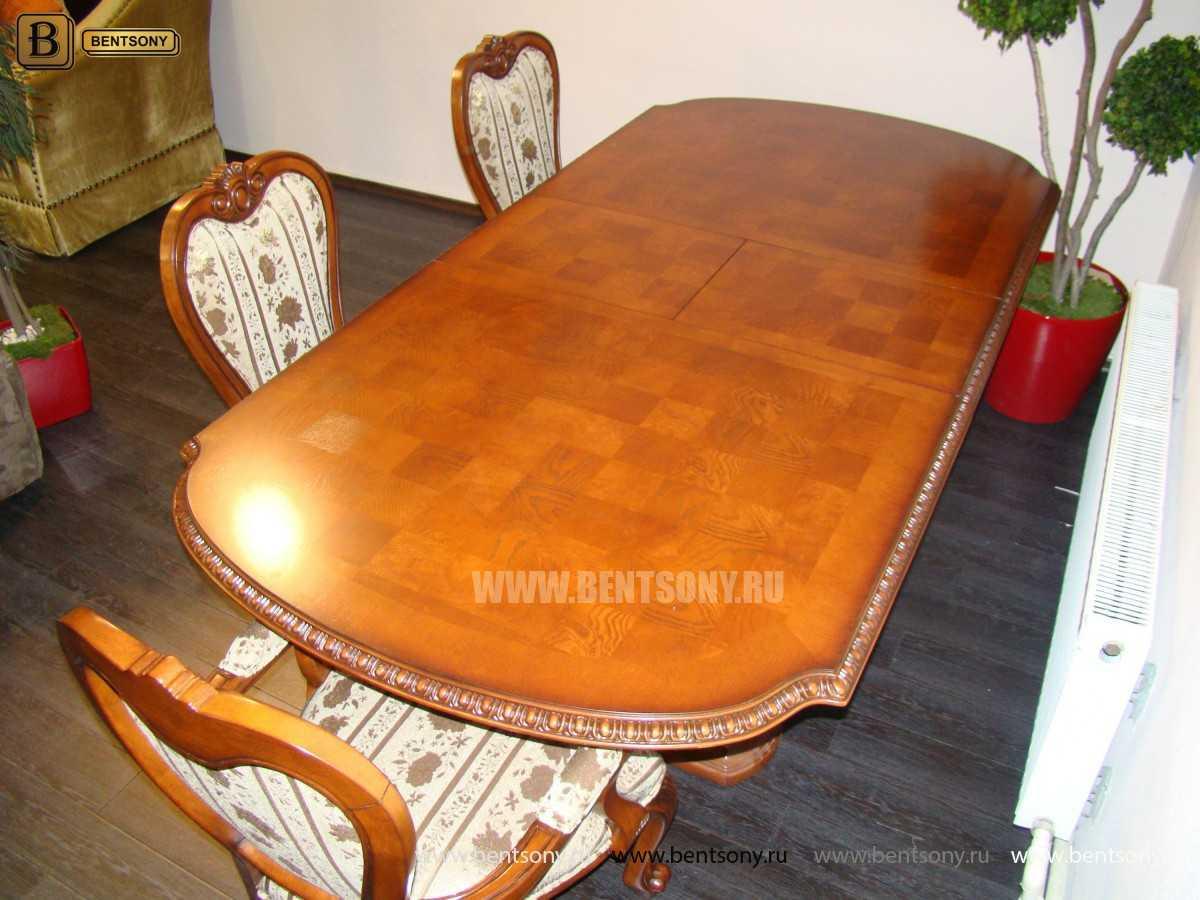 Обеденный стол Монтана (Раскладной, массив дерева) фото