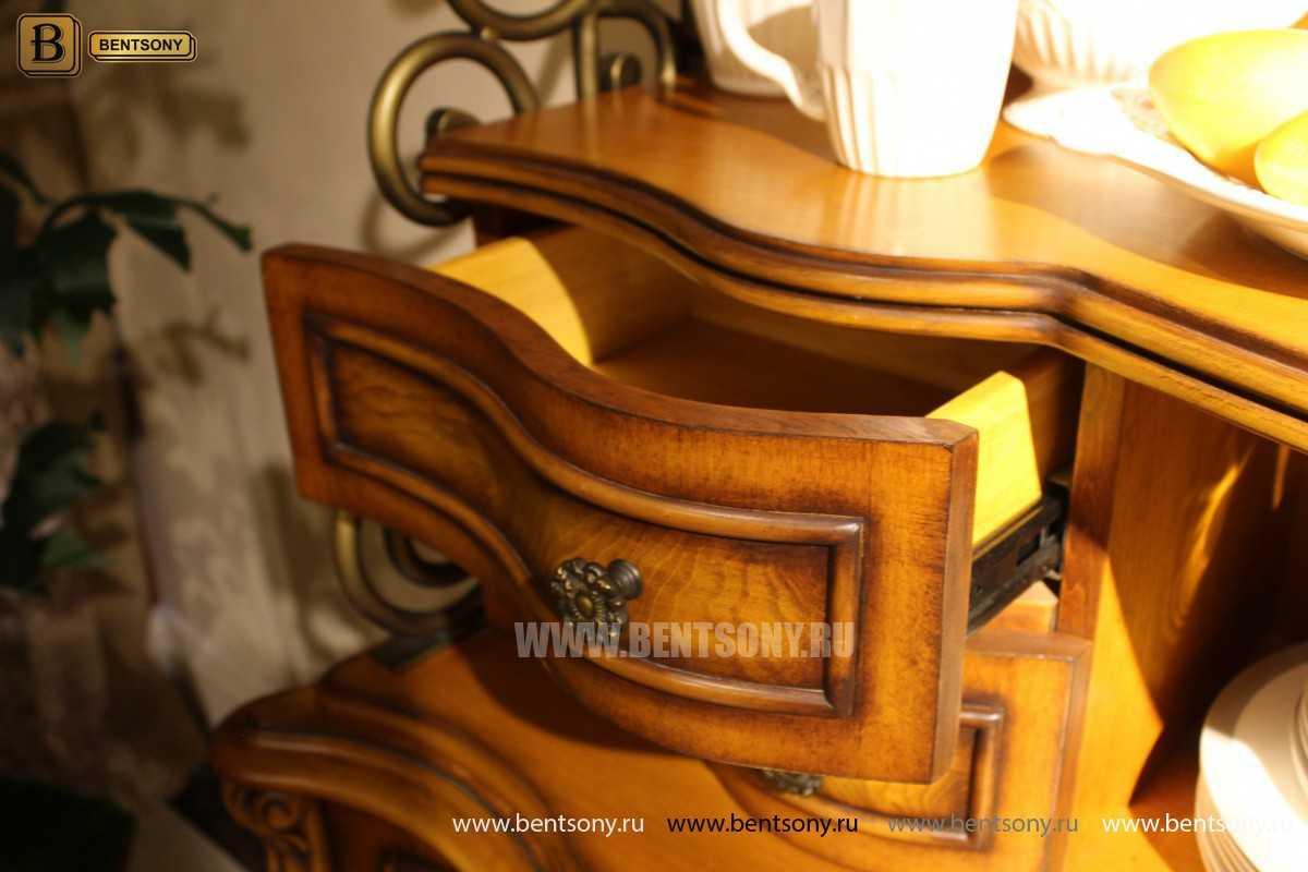 Комод с надстройкой Дакота (Витрина, Буфет)  каталог мебели с ценами