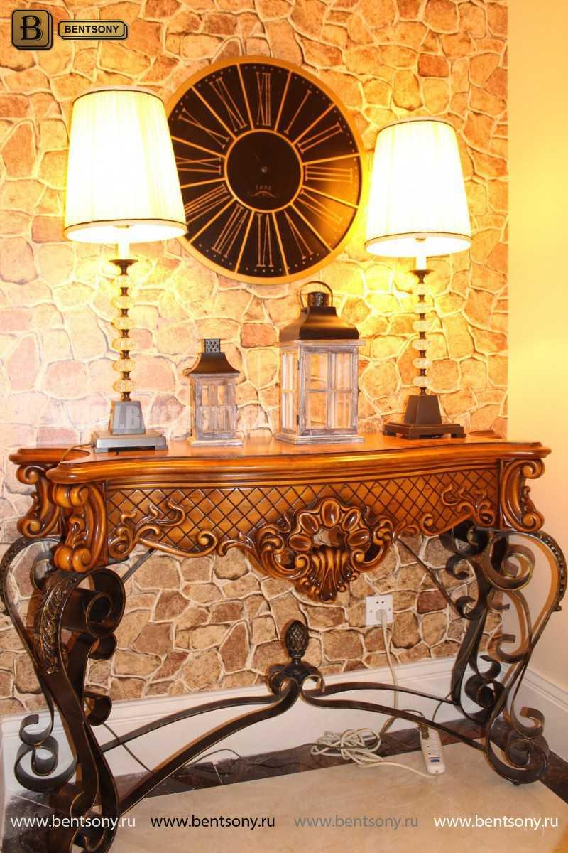 Консоль Дакота (Деревянная столешница) изображение