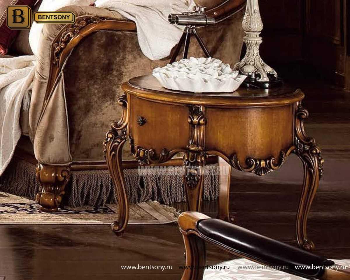 Чайный столик круглый Дакота (Классика, массив дерева) каталог