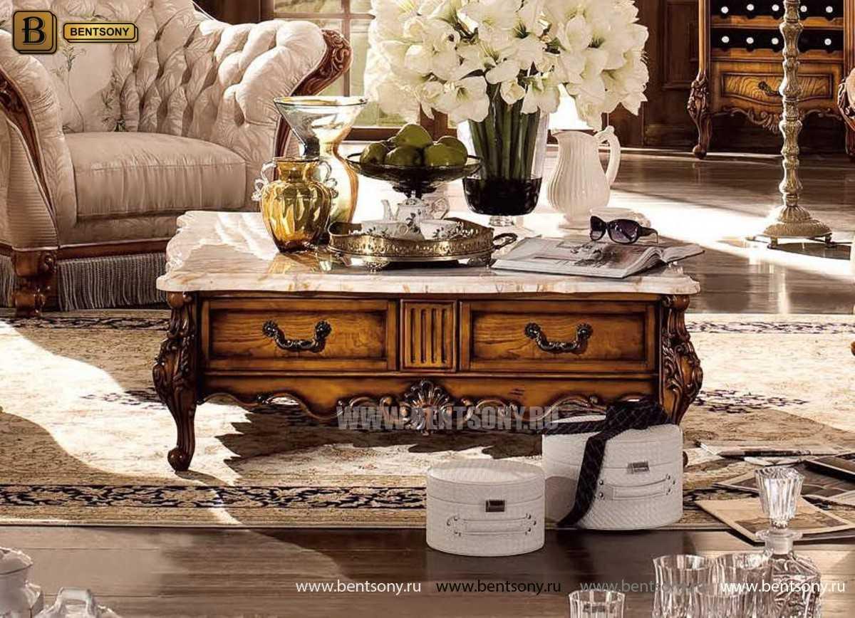 Стол Журнальный Квадратный Дакота В (Массив дерева) каталог мебели