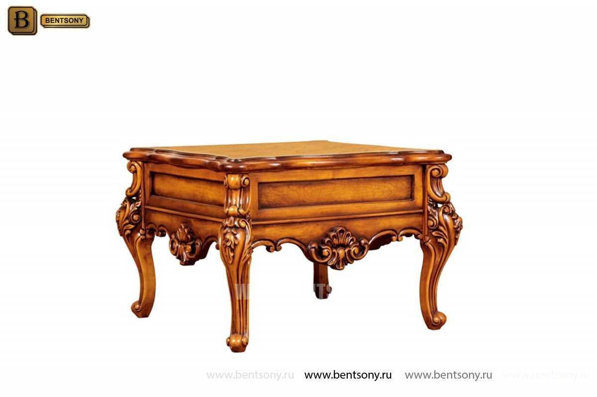Стол Журнальный Чайный Дакота В (Классика, массив дерева) каталог мебели с ценами