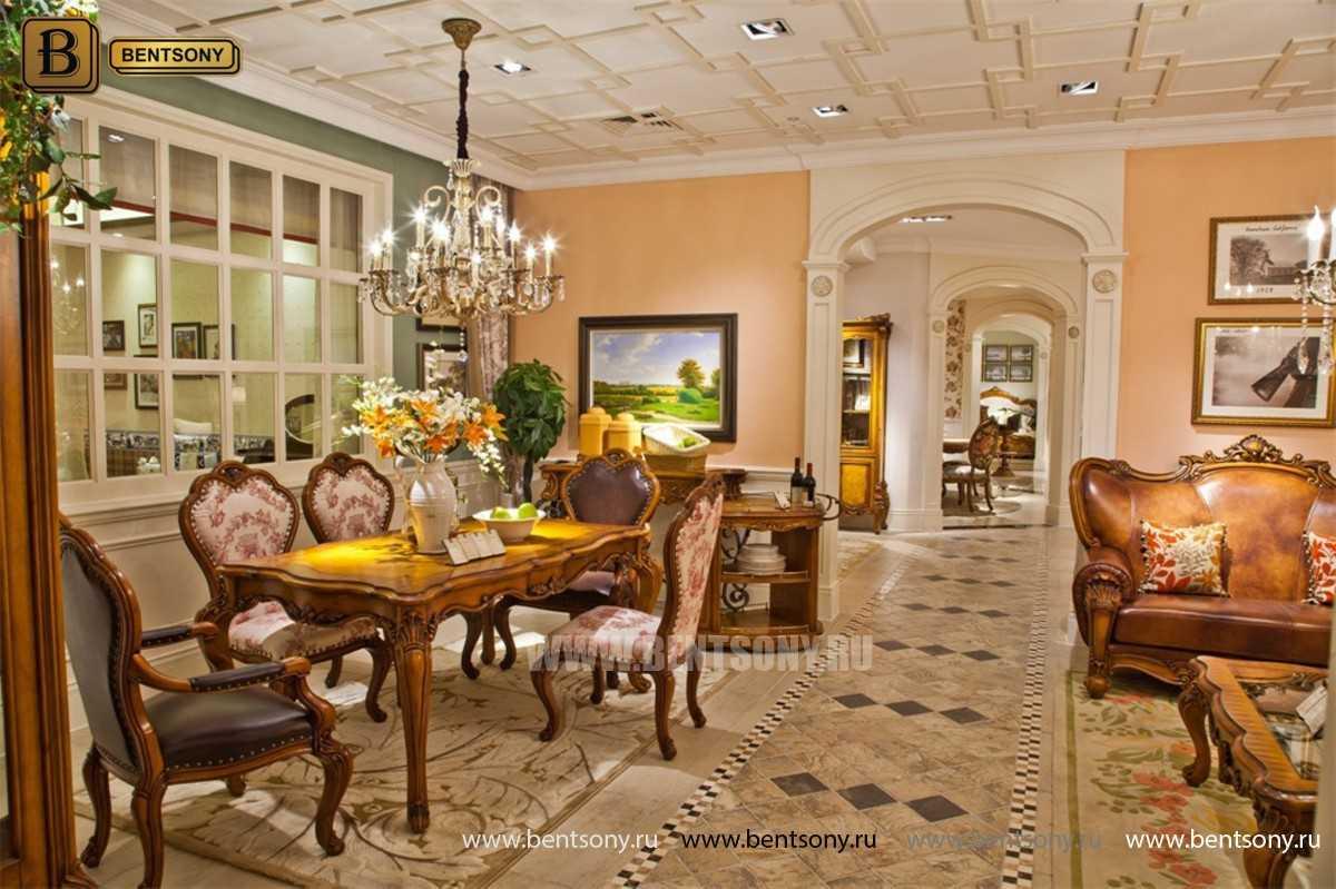 Стул c подлокотниками Дакота А (Натуральная Кожа) каталог мебели с ценами