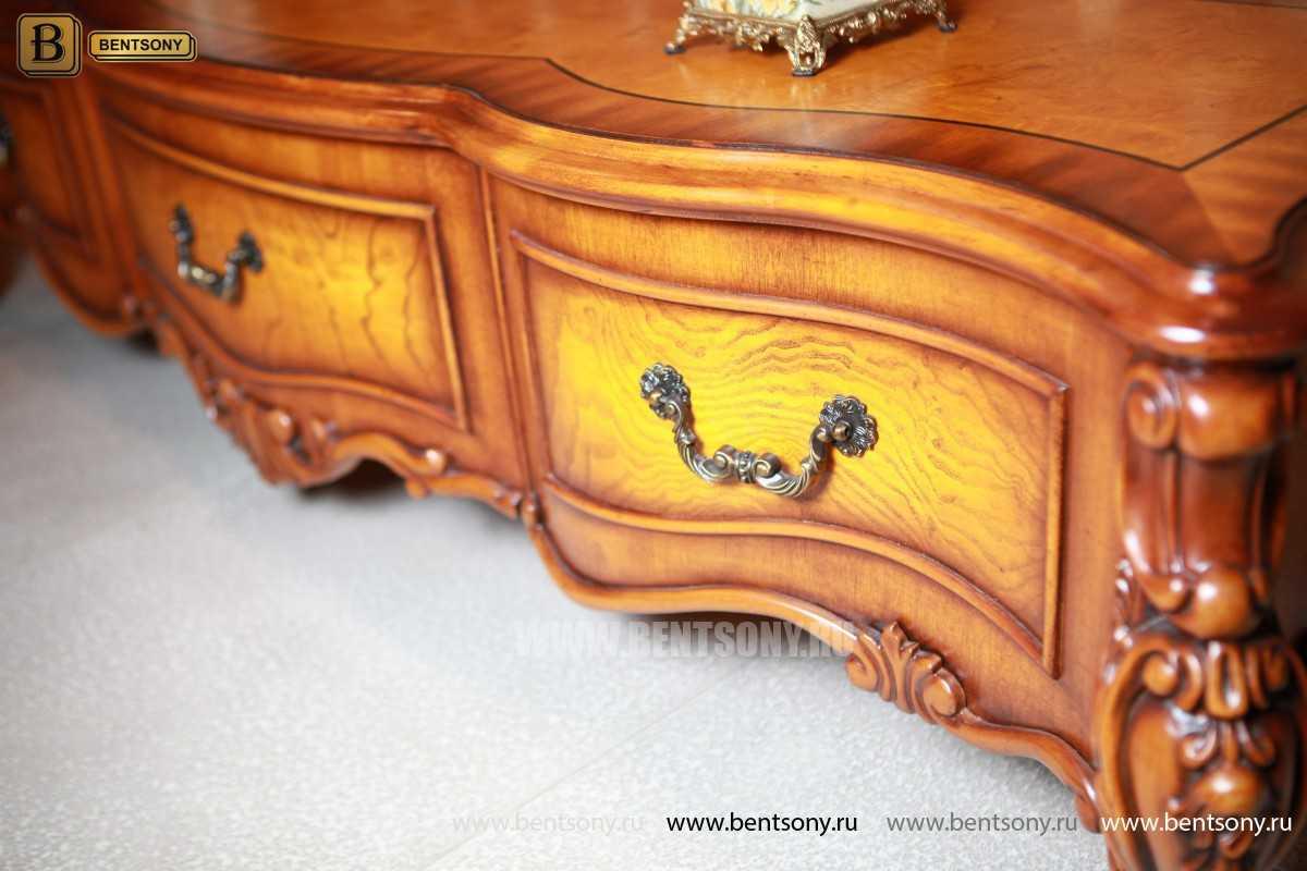 ТВ Тумба Дакота А (Классика, массив дерева) каталог мебели