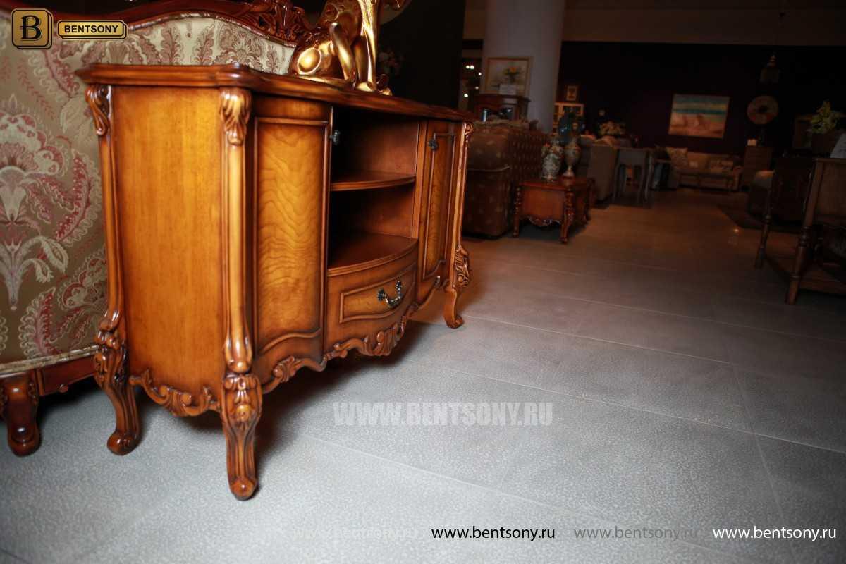 Тумба придиванная Дакота В (Классика, массив дерева) каталог мебели