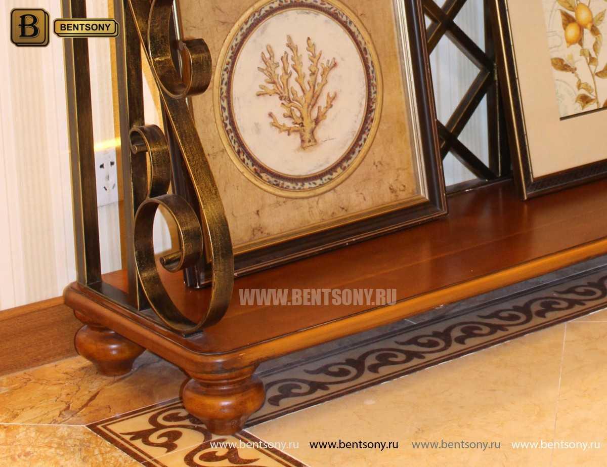 Тумба придиванная Дакота B (Классика, деревянная столешница) каталог