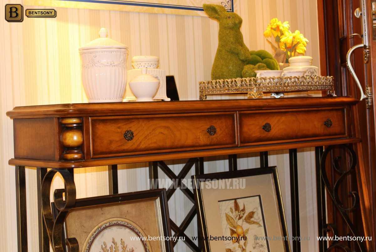 Тумба придиванная Дакота B (Классика, деревянная столешница) для дома