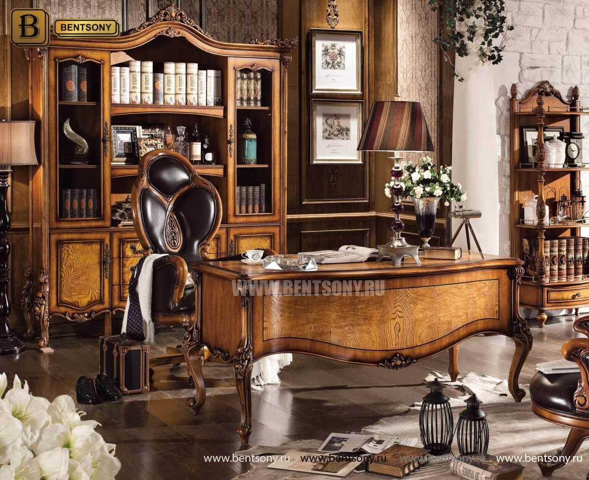 Кресло Кабинетное Дакота А (Классика, натуральная кожа) цена