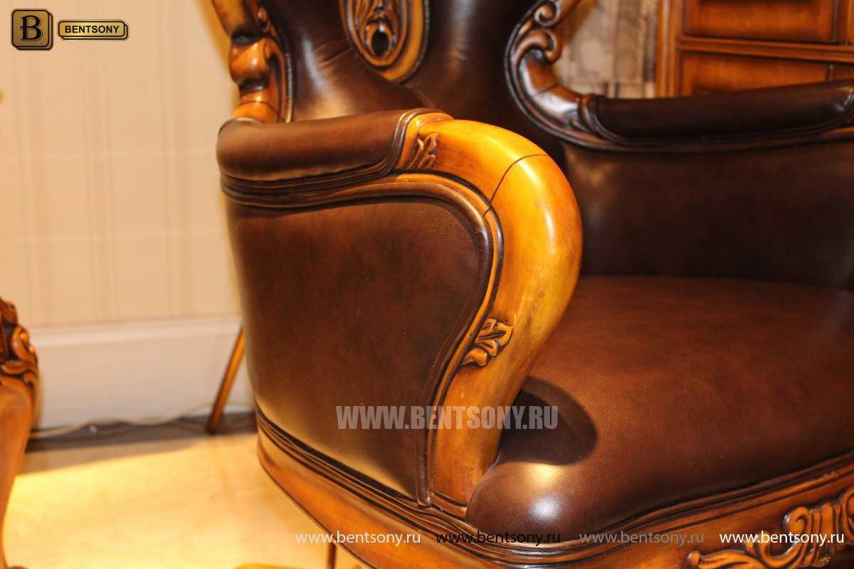 Кресло Кабинетное Дакота А (Классика, натуральная кожа) купить