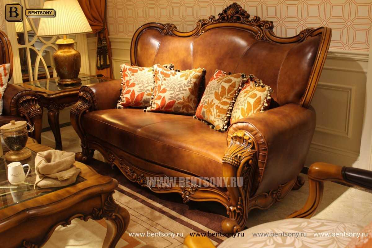 Гостиная Дакота А (Классика, Натуральная Кожа) каталог мебели