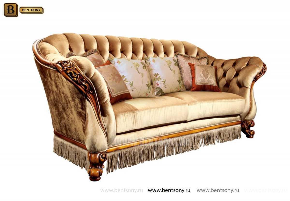 Гостиная Дакота В (Классика, Капитоне) каталог мебели с ценами