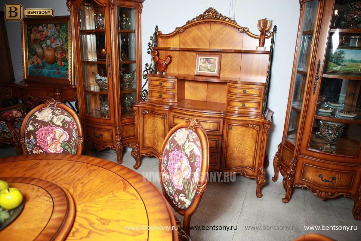 Гостиная Дакота E (Классика, Натуральная кожа, ткань) каталог мебели с ценами
