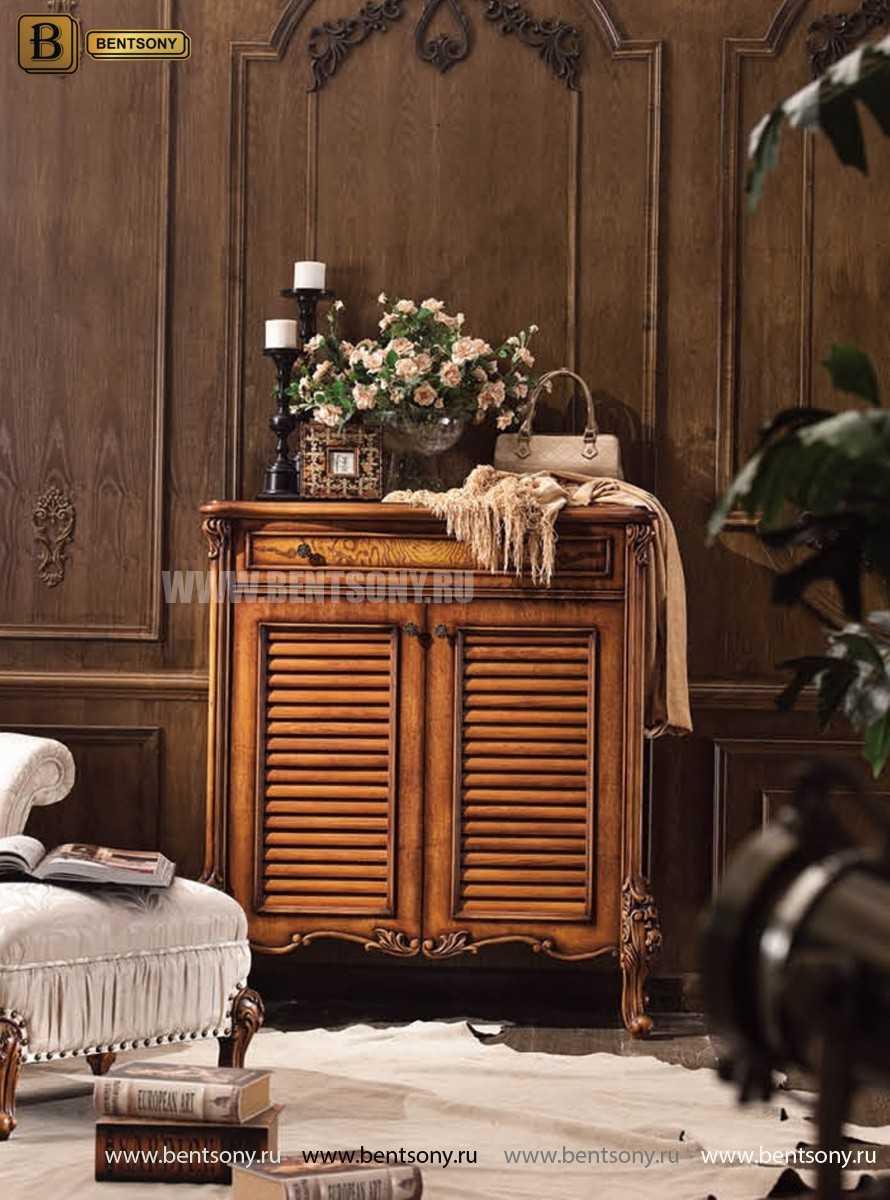 Гостиная Дакота E (Классика, Натуральная кожа, ткань) изображение