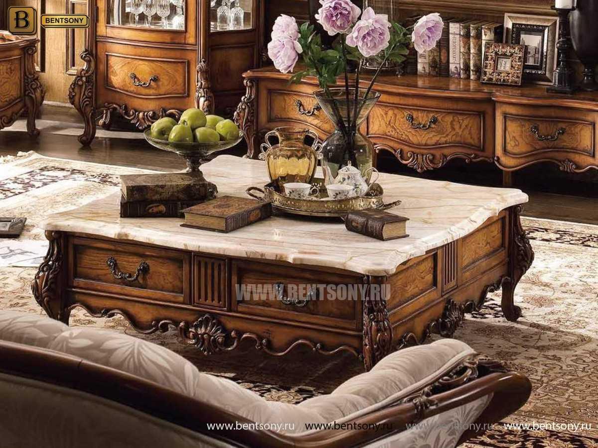 Гостиная Дакота G (Классика, Натуральная Кожа) каталог мебели с ценами