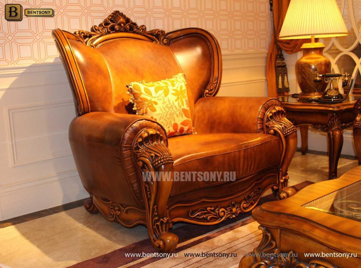 Кресло Дакота А (Классика, Натуральная Кожа) каталог с ценами