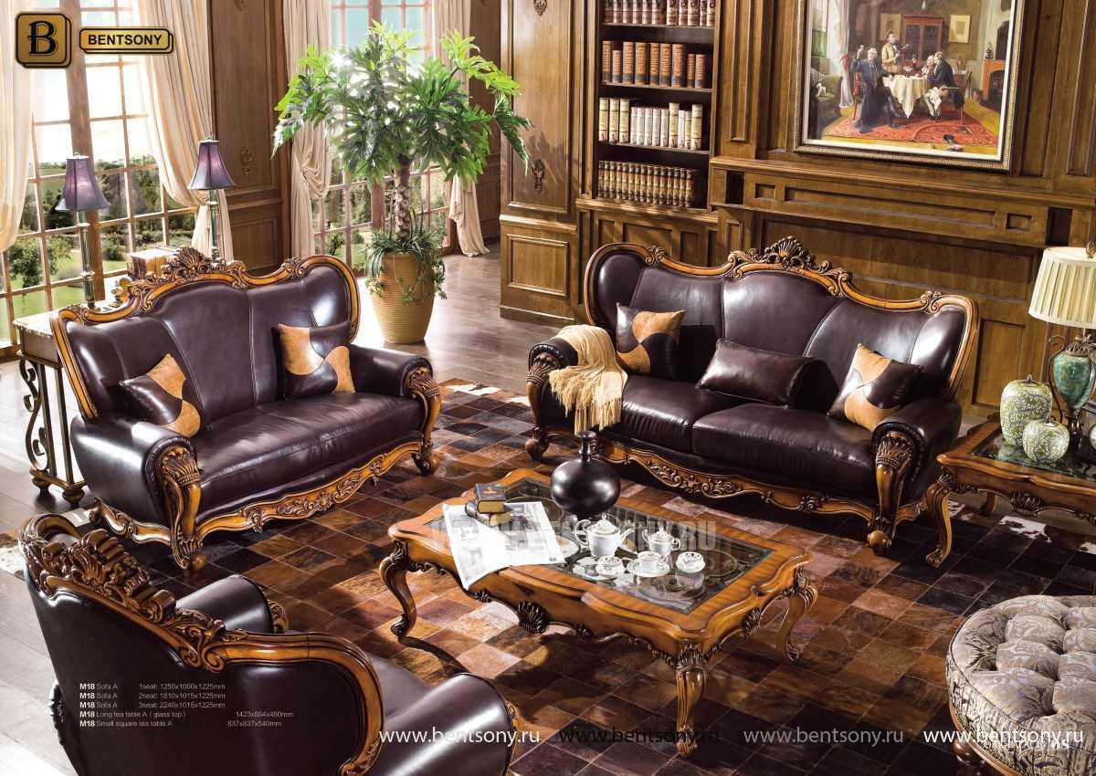 Кресло Дакота А (Классика, Натуральная Кожа) фото