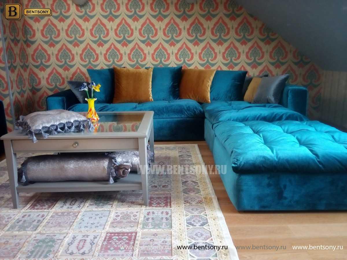Угловой диван Бениамино в интерьере