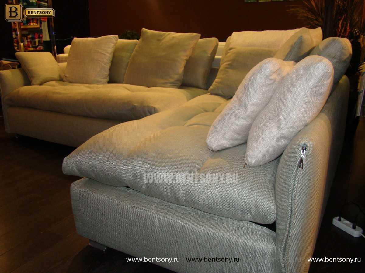 ткань дивана Арлетто рогожка