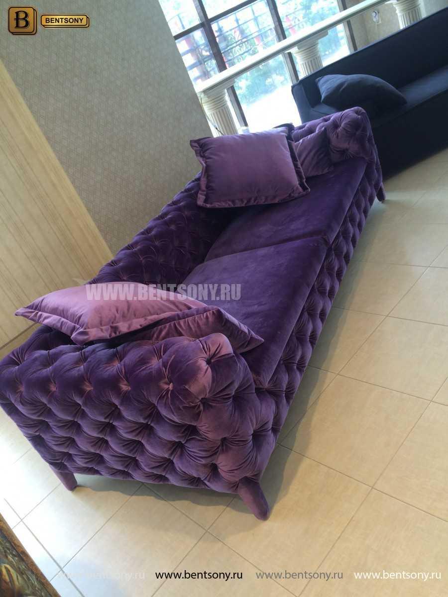 диван Скиллачи фиолетовый фото