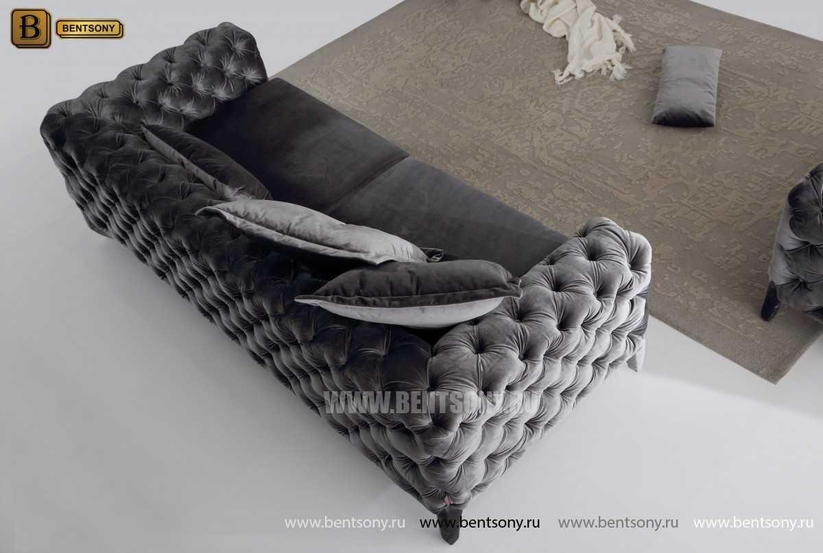 мягкая кушетка с подушками Скиллачи