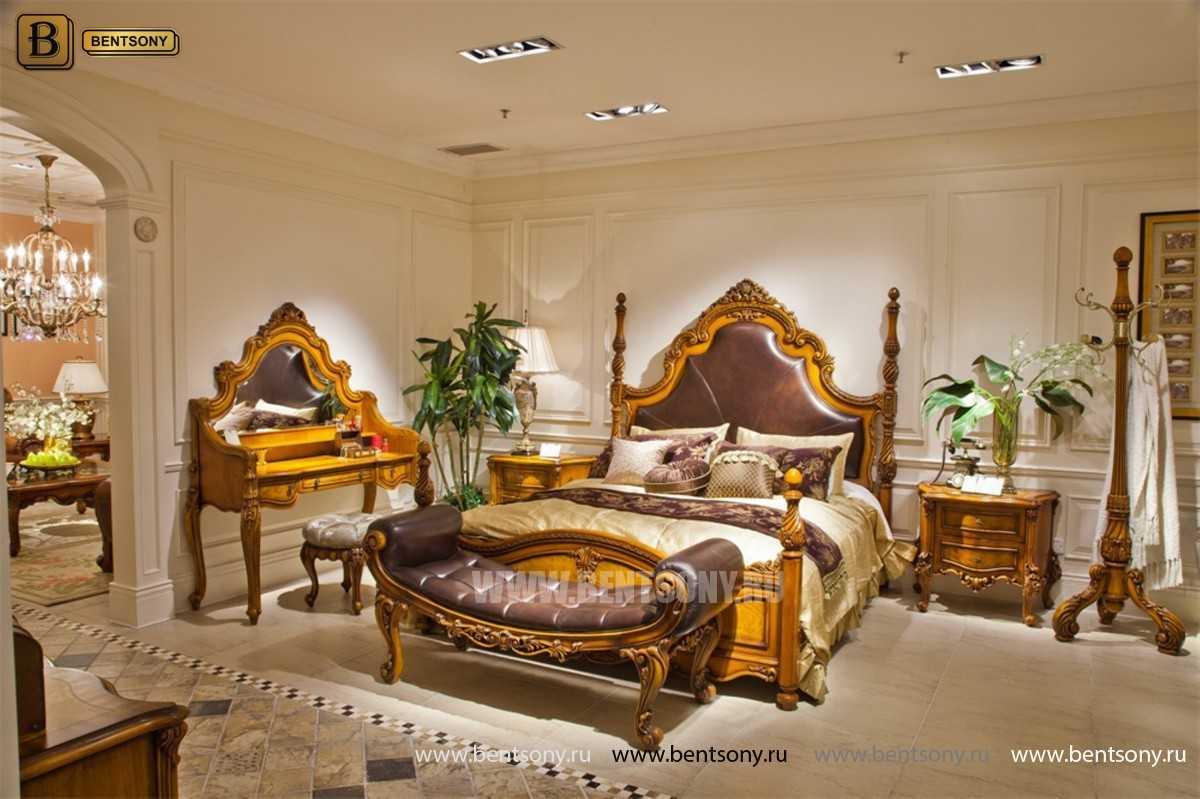 Кровать Дакота А (Классика, Натуральная Кожа) каталог с ценами