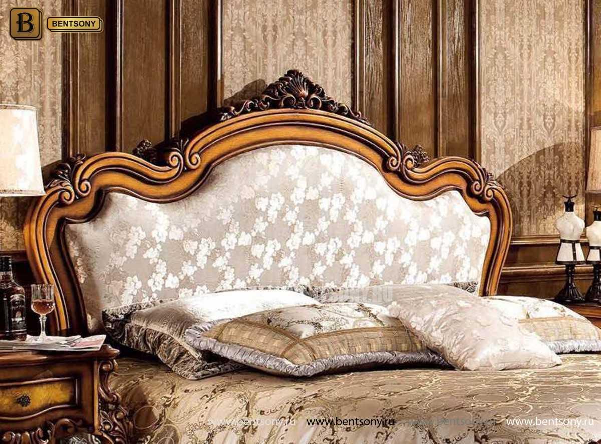 Кровать Дакота C (Классика, ткань, массив дерева) в Москве