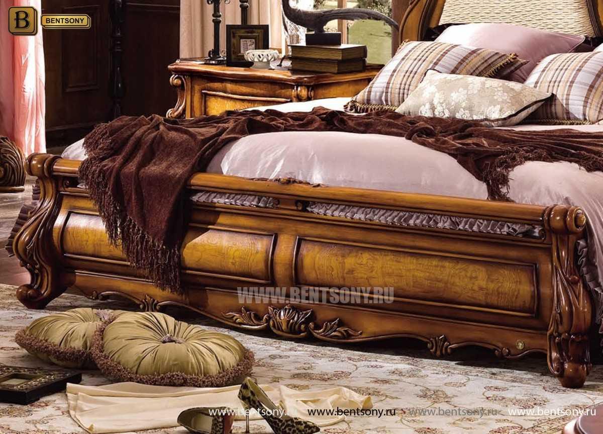 Кровать Дакота D (Классика, массив дерева, ткань) в Москве