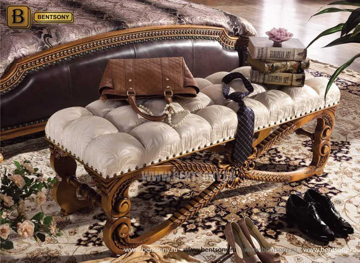 Оттоманка Дакота А (Массив дерева, ткань) каталог мебели с ценами